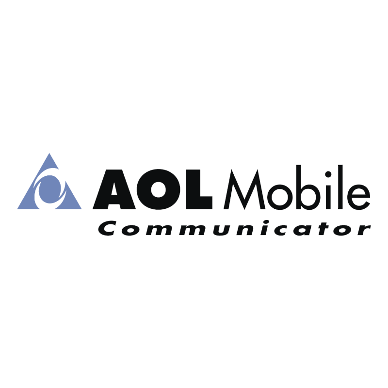 AOL Mobile Communicator vector logo
