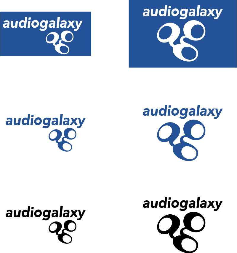 audiogalaxy vector logo