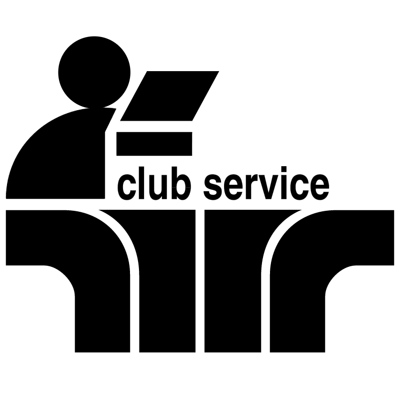 Club Service vector logo