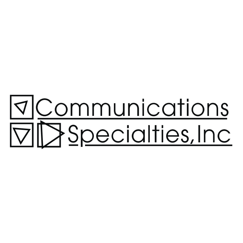 Communications Specialties vector logo