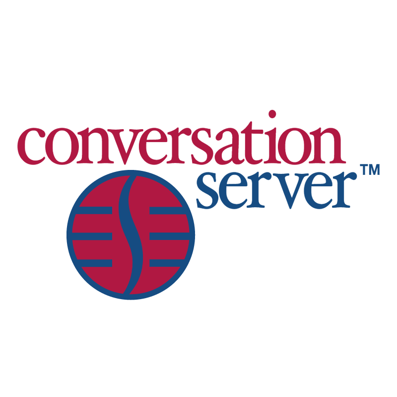 Conversation Server vector logo