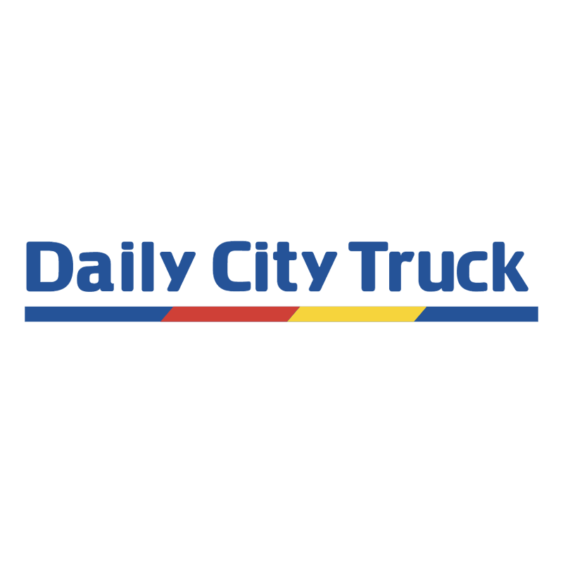 Daily City Truck vector