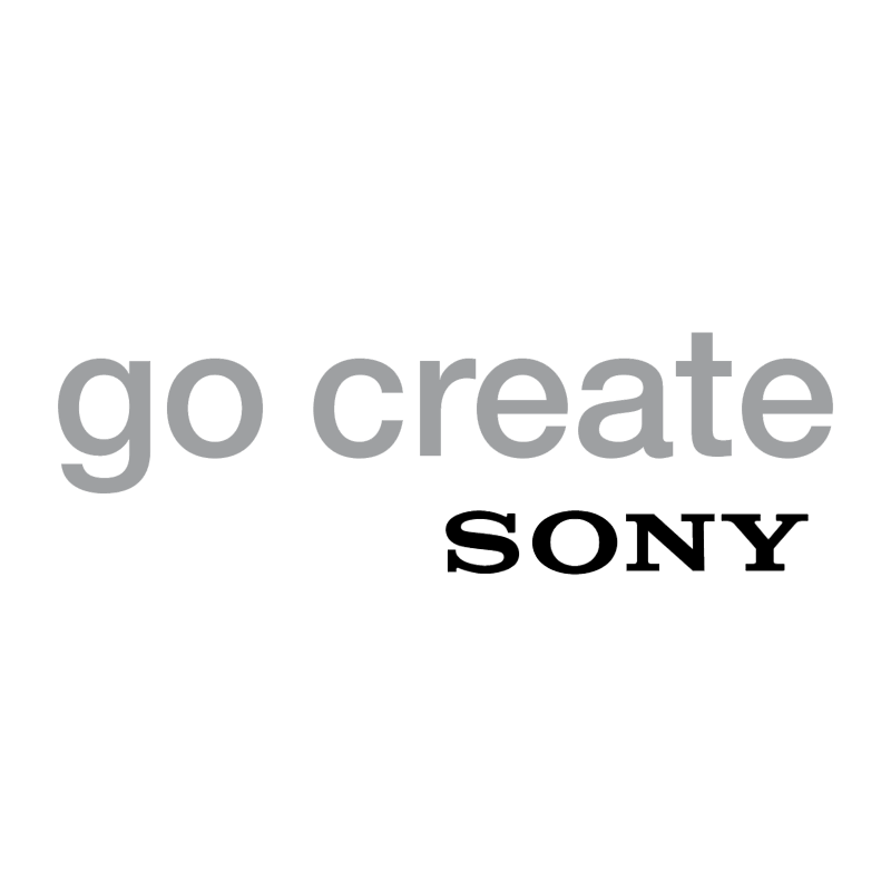 Go Create Sony vector
