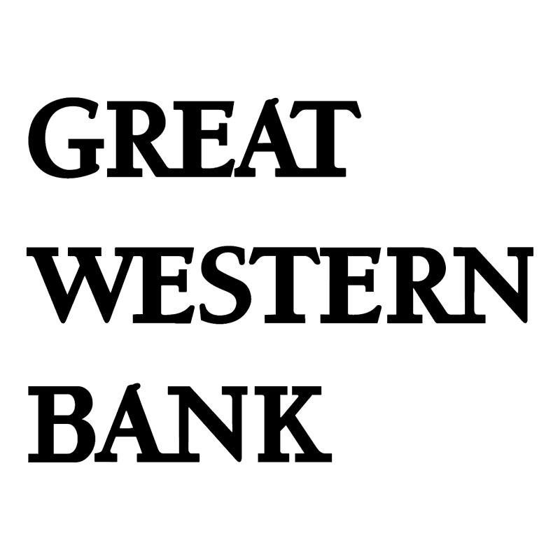Great Western Bank vector