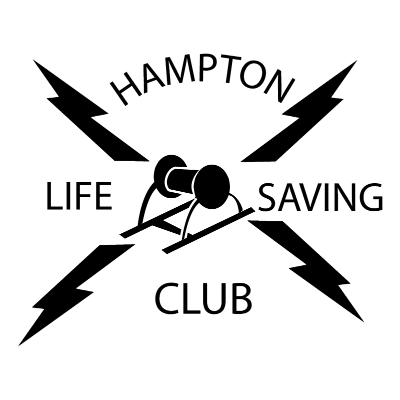 Hampton Life Saving Club vector logo