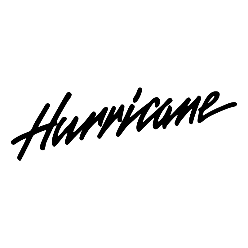 Hurricane vector logo