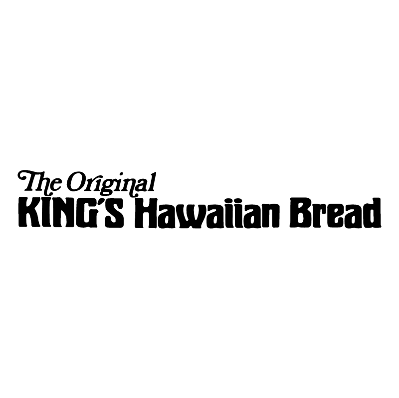 King's Hawaiian Bread vector