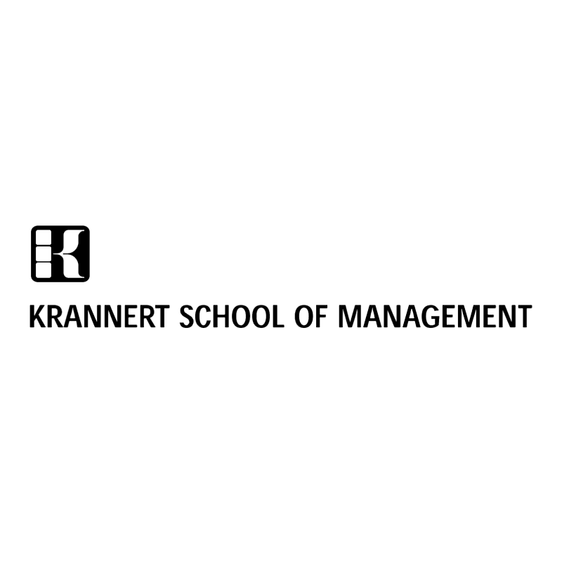 Krannert School of Management vector