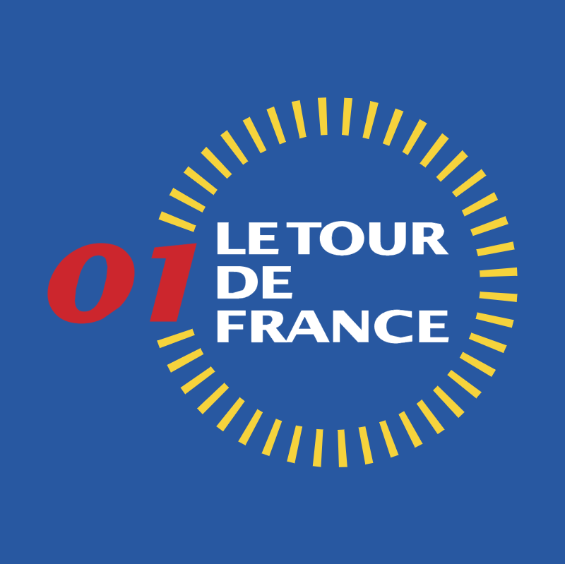 Le Tour de France 2001 vector logo