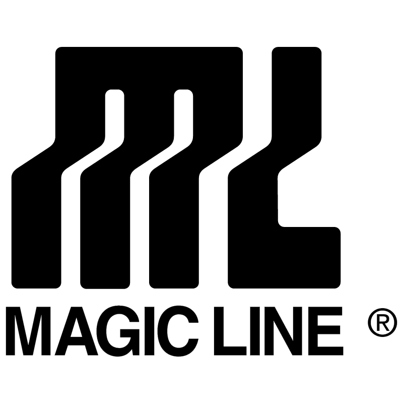 Magic Line vector logo
