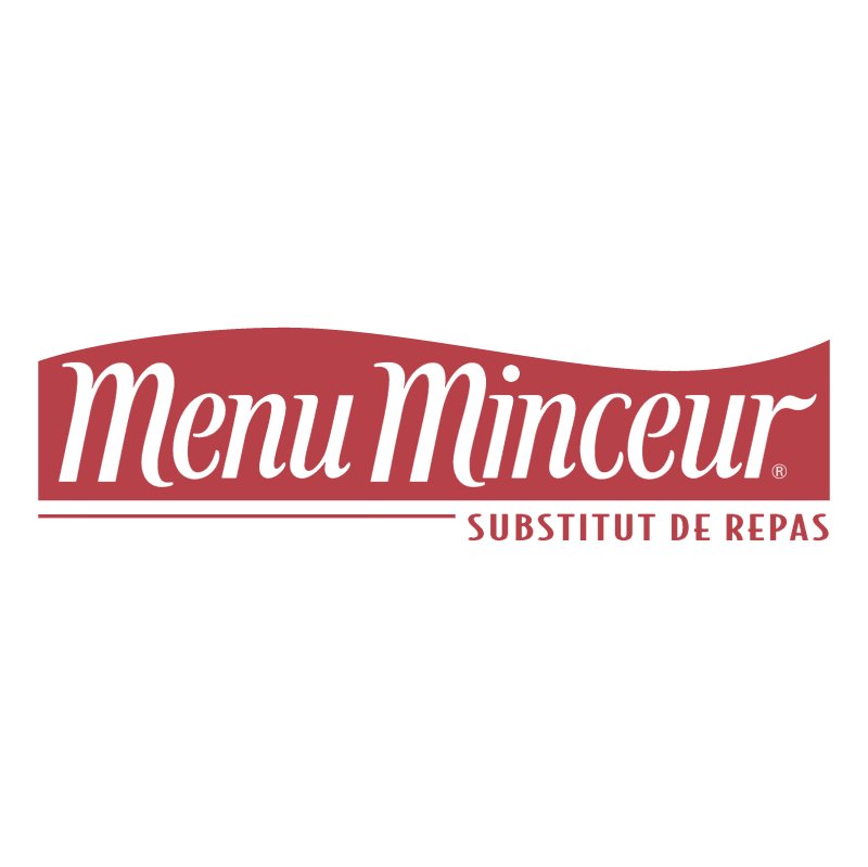 Menu Minceur vector