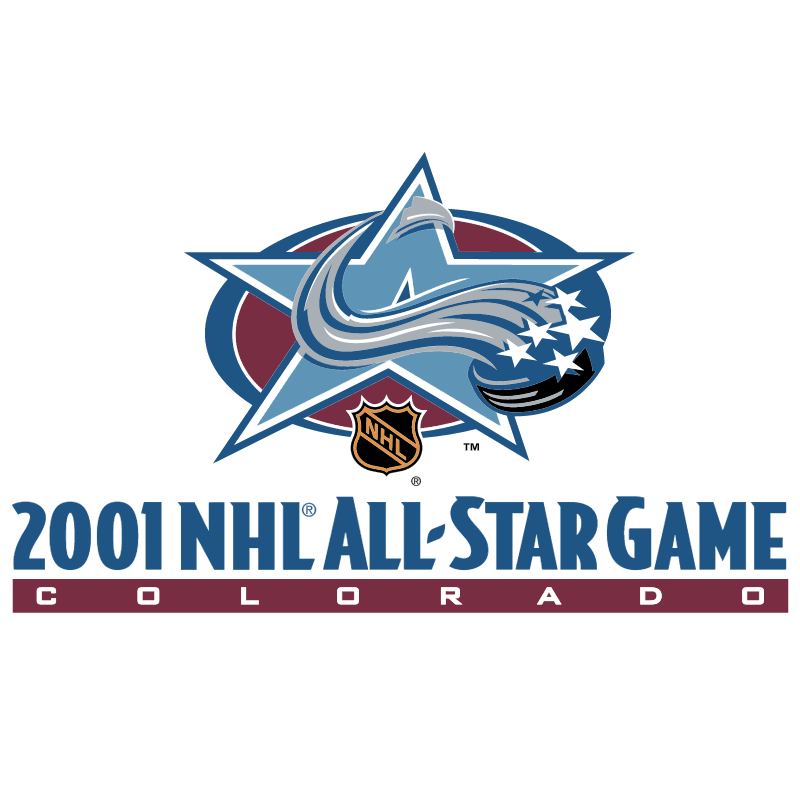 NHL All Star Game 2001 vector logo