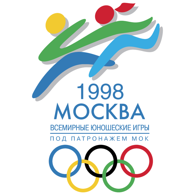 Olympic Junior Moscow 1998 vector