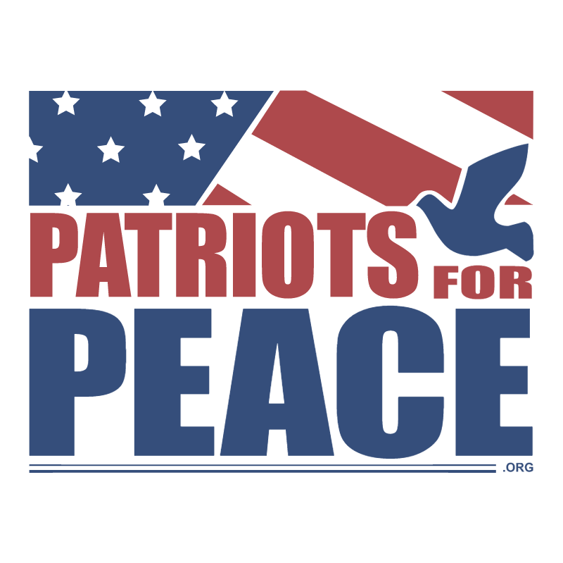 Patriots For Peace vector