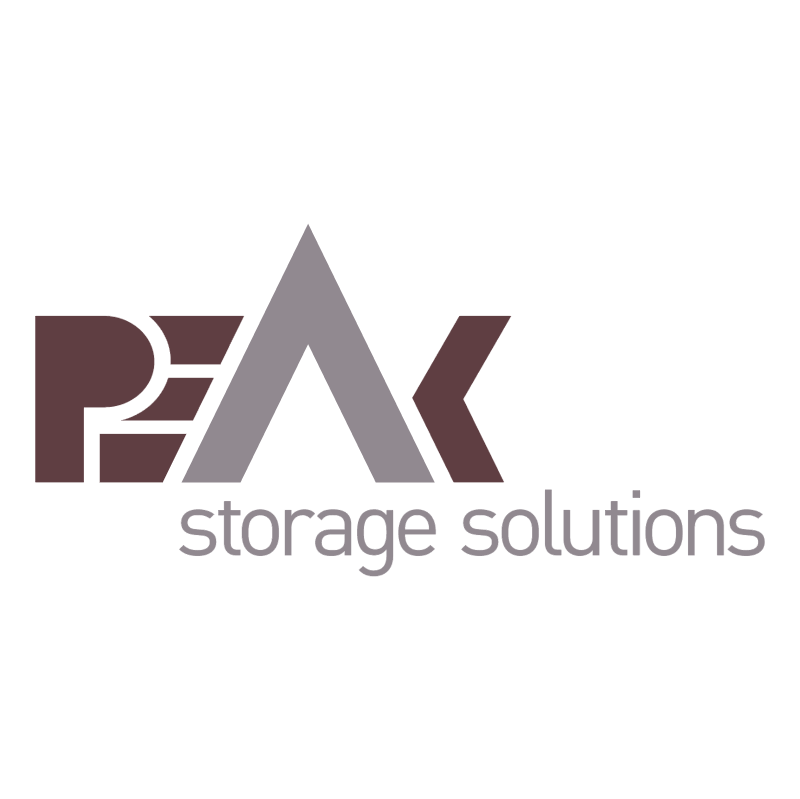 PeAk Storage Solutions vector