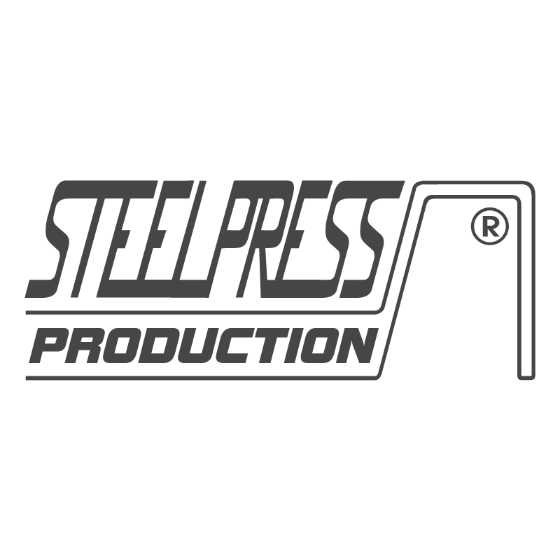 Steel Press Production vector