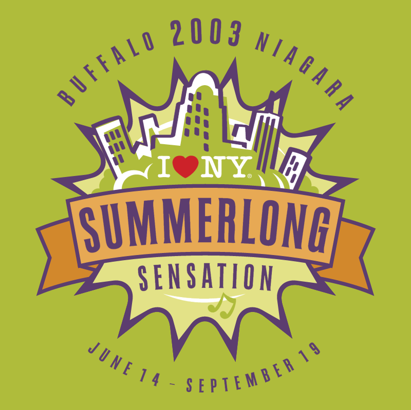 Summerlong Sensation vector logo