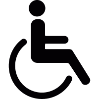 Wheelchair Accesibility vector