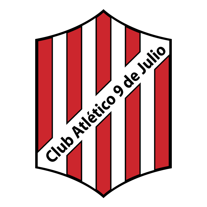 Club Atletico 9 de Julio de Rafaela vector