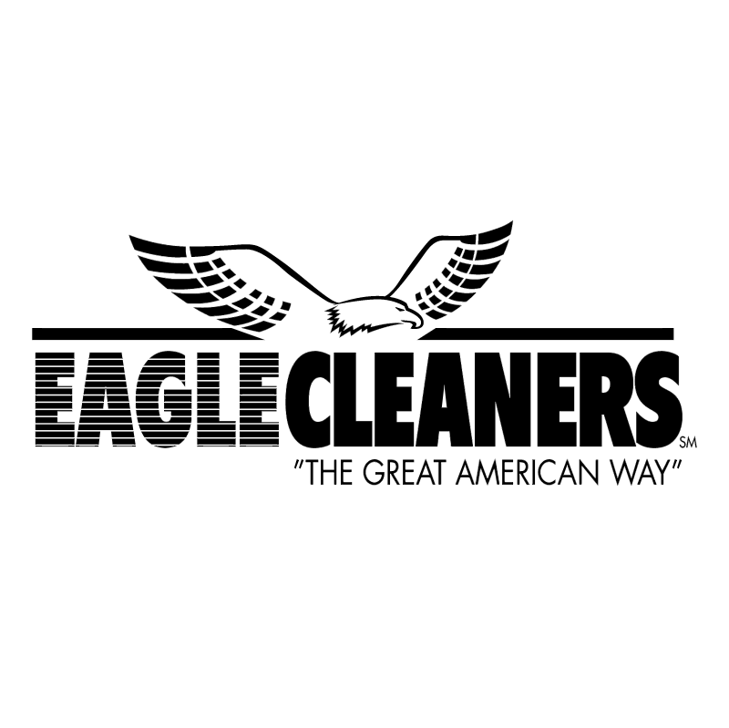 Eagle Cleaners vector