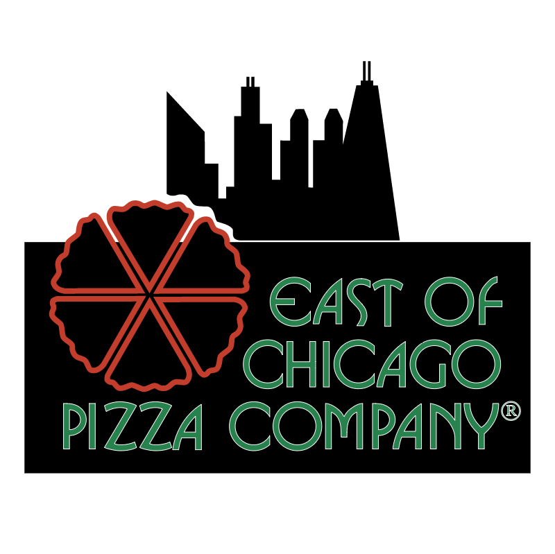 East of Chicago Pizza Company vector