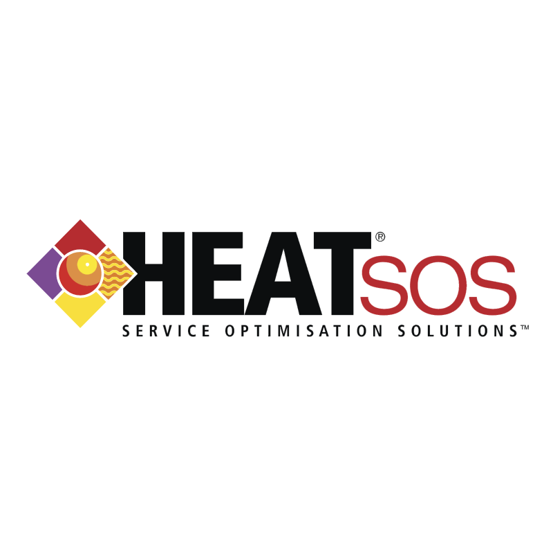 HEAT SOS vector
