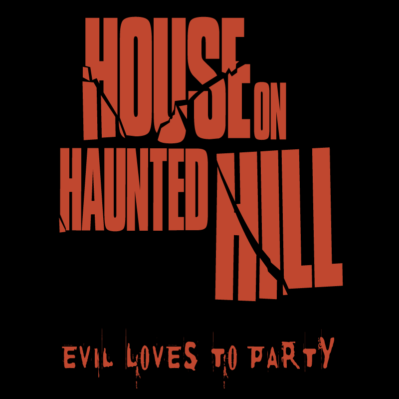 House on Haunted Hill vector logo