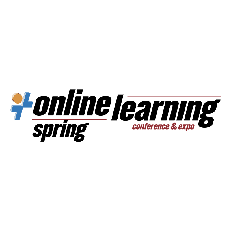 Online Learning Spring vector logo