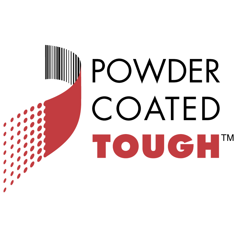 Powder Coated Tough vector logo
