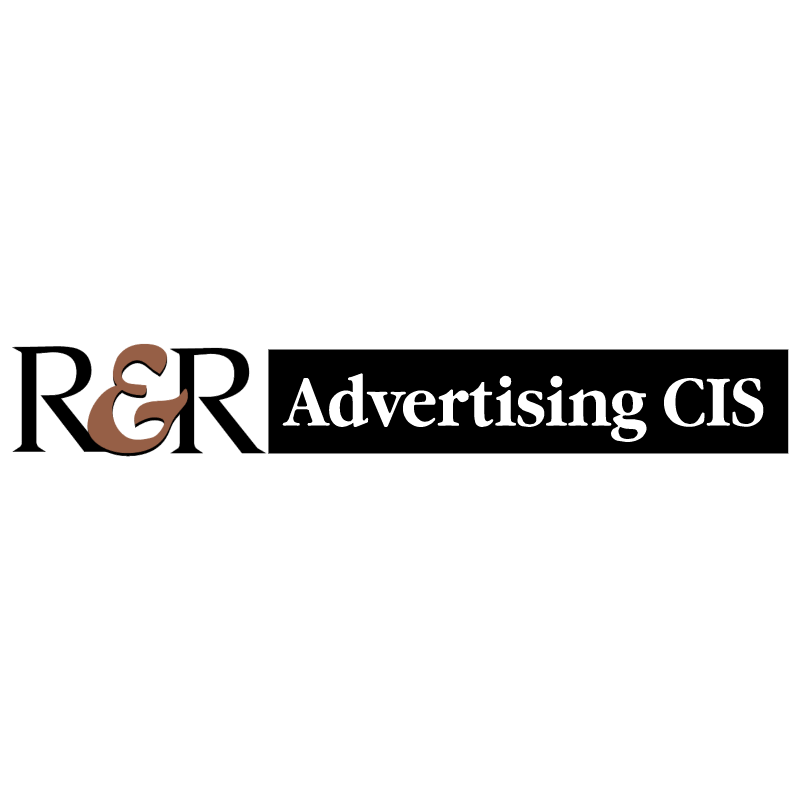 R&R Advertising CIS vector logo
