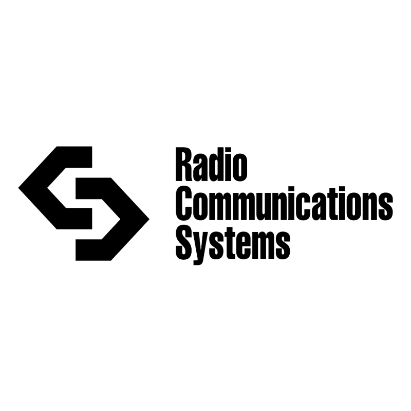 Radio Communications Systems vector logo