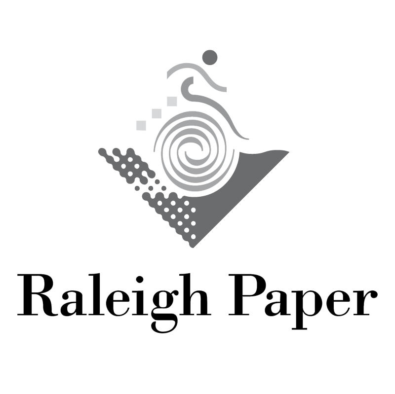 Raleigh Paper vector logo