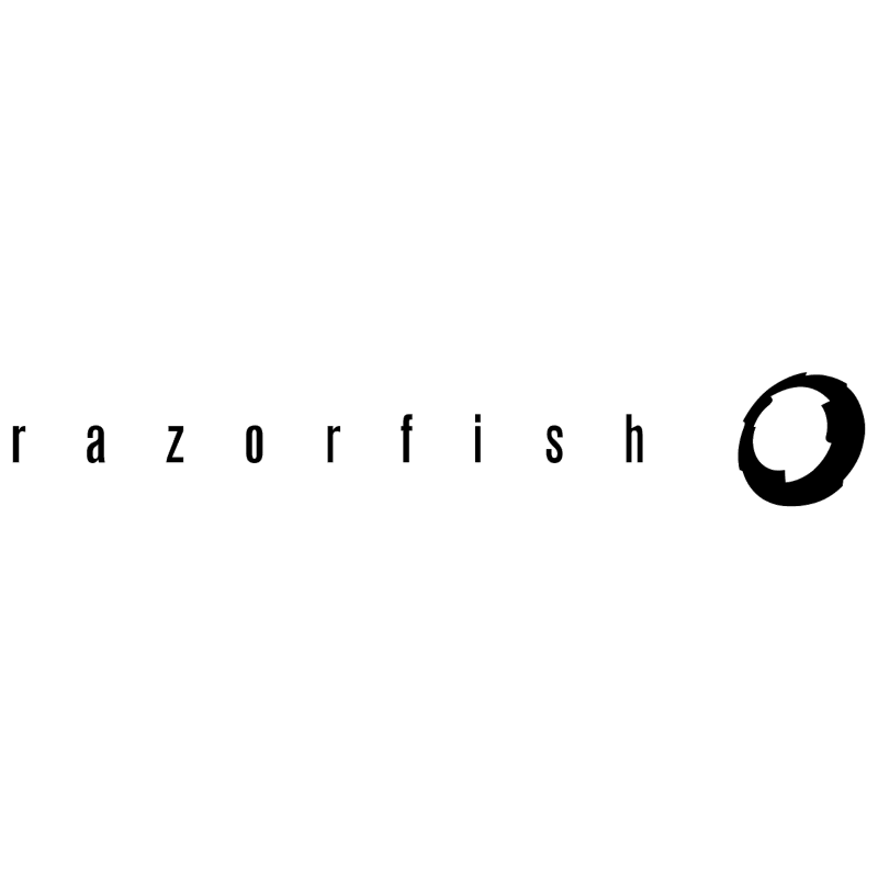 Razorfish vector logo
