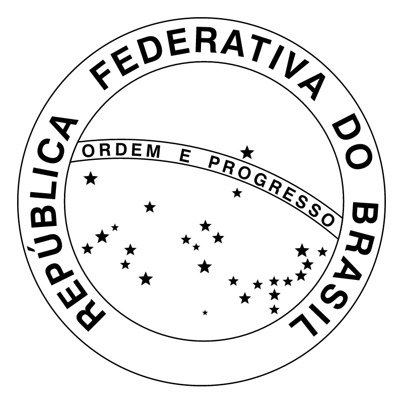 Republica Federativa do Brasil vector