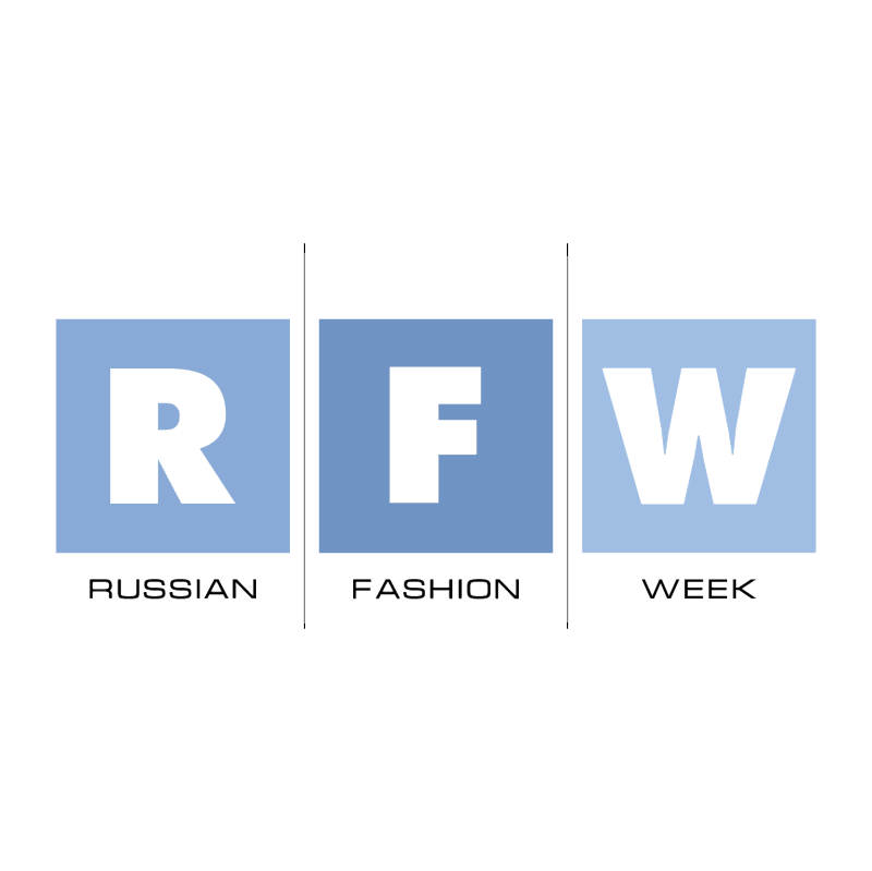 Russian Fashion Week vector logo