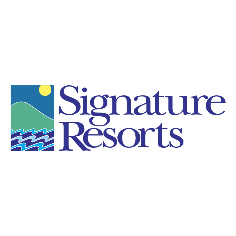 Signature Resorts vector