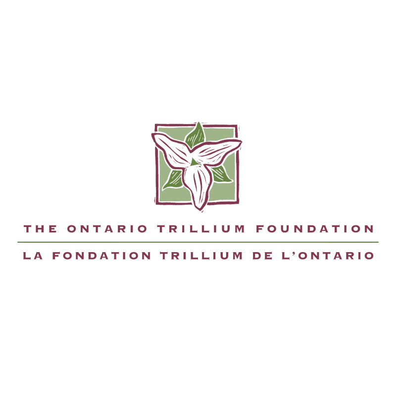The Ontario Trillium Foundation vector