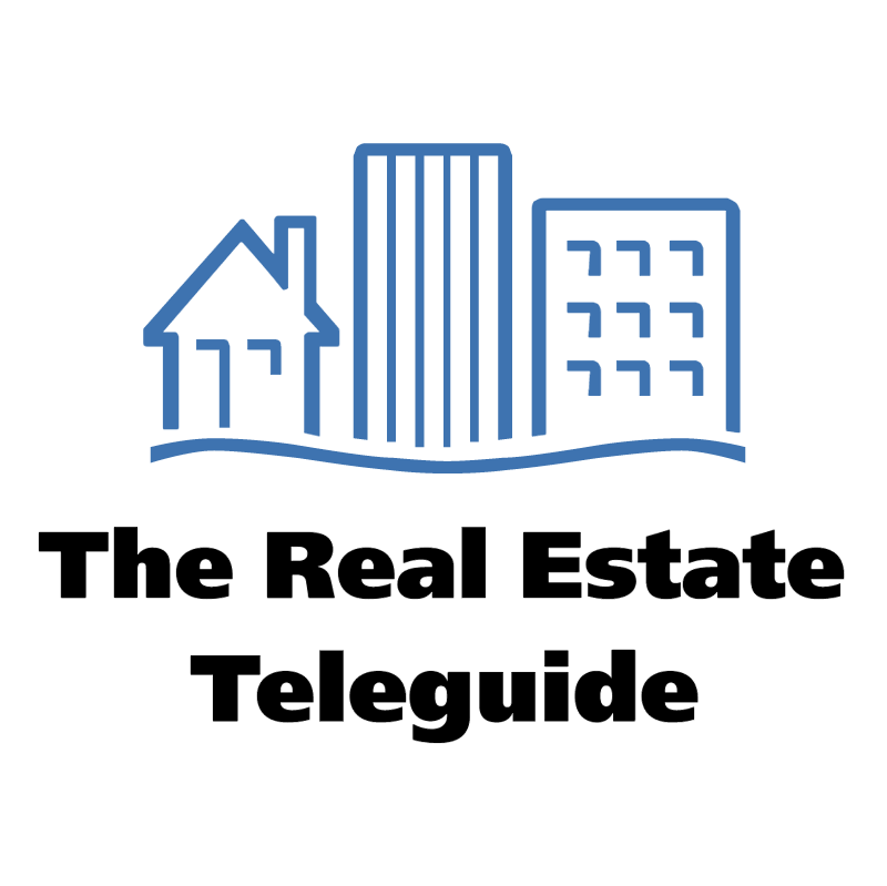 The Real Estate Teleguide vector