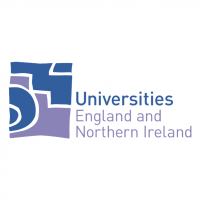 Universities England and Northern Ireland vector