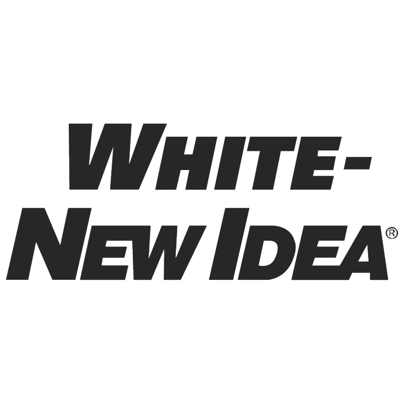 White New Idea vector