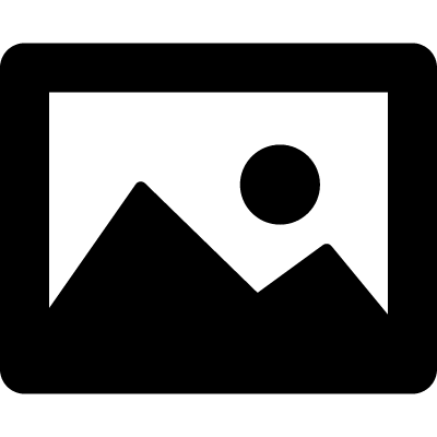 Image interface symbol with a landscape vector logo