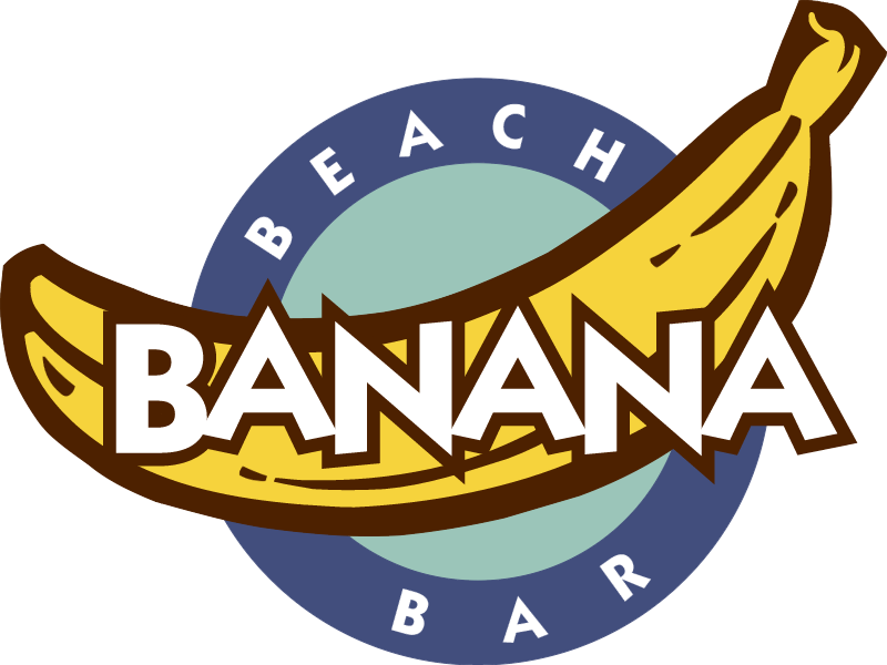 banana vector logo