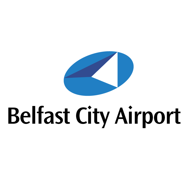 Belfast City Airport vector