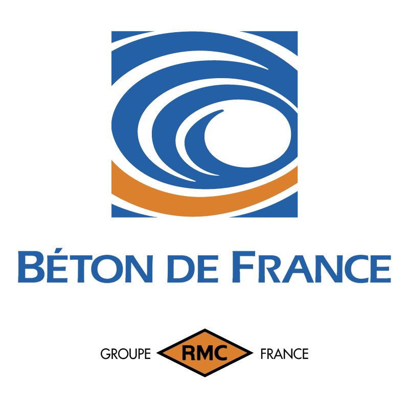 Beton De France 64863 vector logo