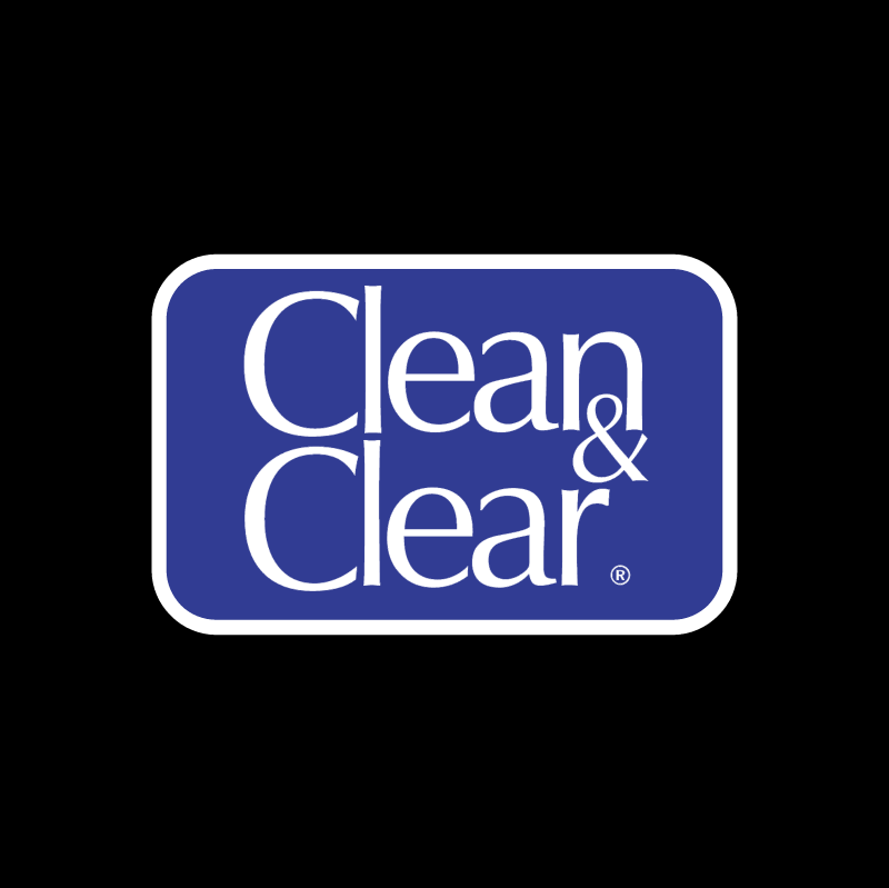 Clean & Clear vector logo