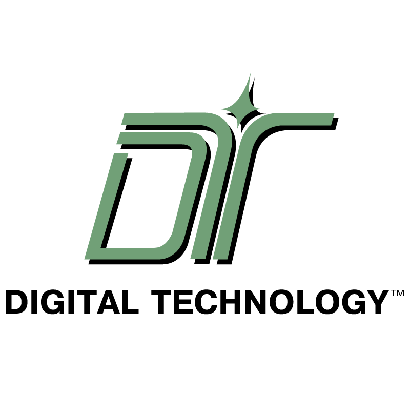 Digital Technology vector logo