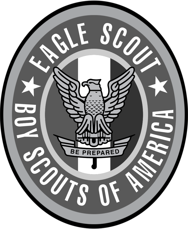 EAGLE SCOUTS vector