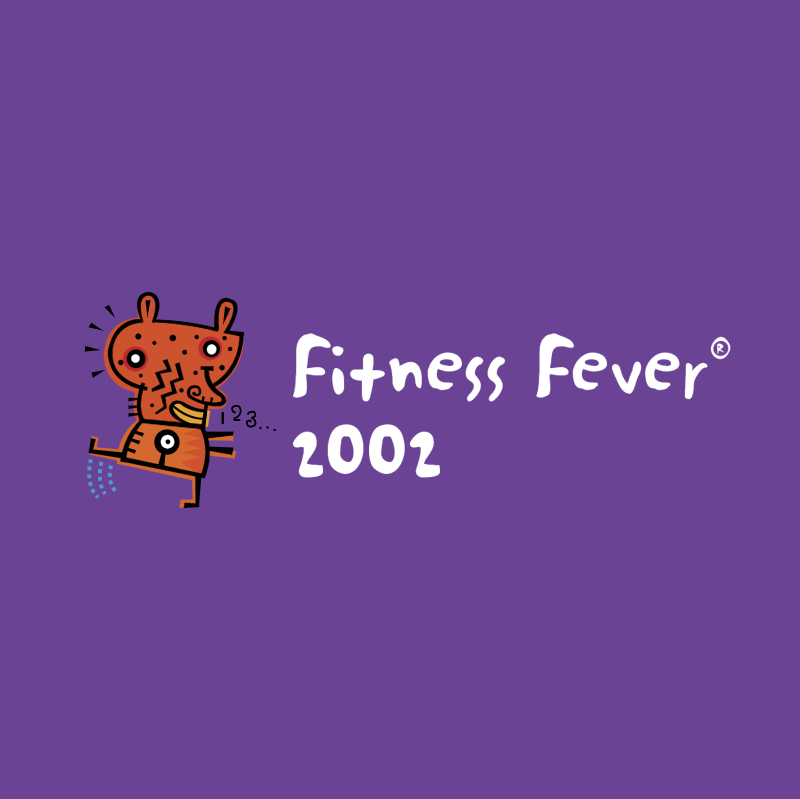 Fitness Fever 2002 vector logo
