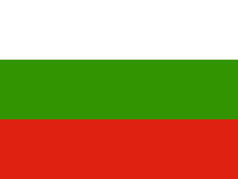 Flag of Bulgaria vector