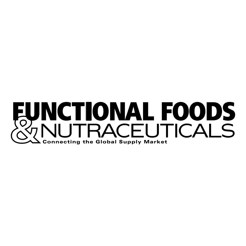 Functional Foods and Nutraceuticals vector logo